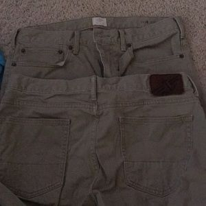 Men's dockers khaki pants 2pair